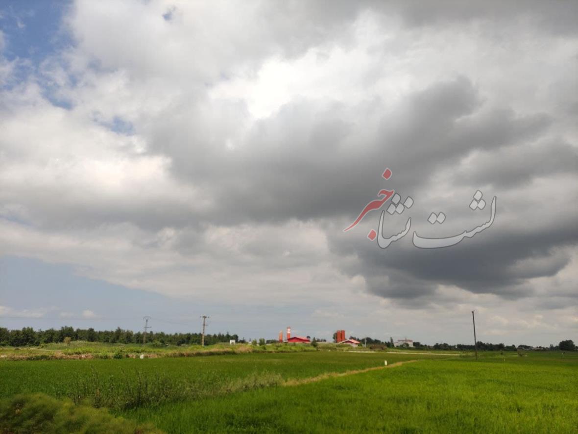 دمای هوای گیلان ۵ تا ۱۰ درجه کاهش مییابد | باران تابستانه در راه گیلان