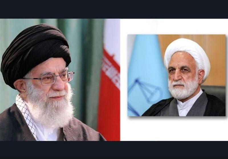 غلامحسین محسنی اژهای رییس قوه قضائیه شد+ متن حکم
