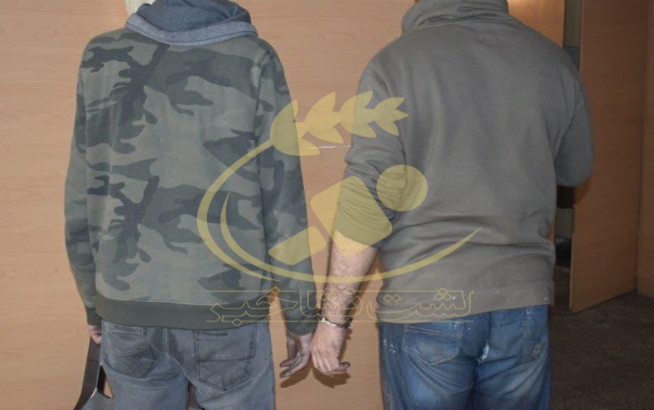 دستگیری ۲ سارق سابقهدار طی عملیات ضربتی پلیس در لشت نشا!